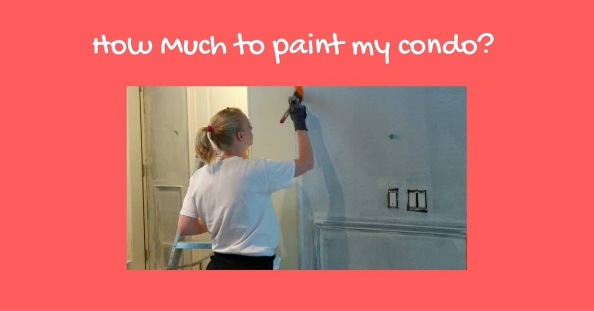 how much to paint a condo in toronto condo painters ecopainting. Black Bedroom Furniture Sets. Home Design Ideas
