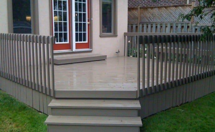 Porch and deck paint colour ecopainting for Garden decking colours