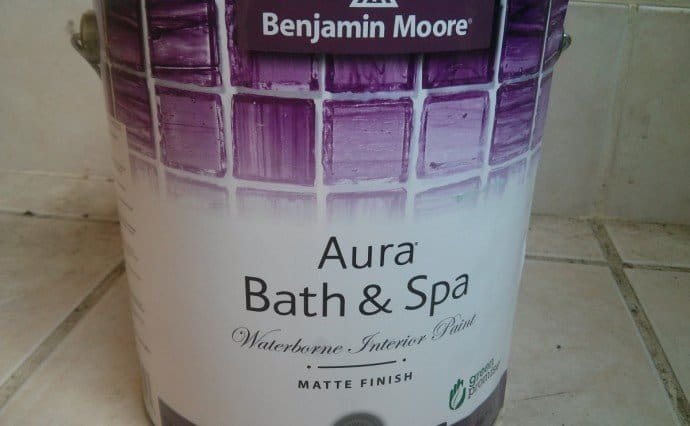 review benjamin moore aura bath spa ecopainting. Black Bedroom Furniture Sets. Home Design Ideas