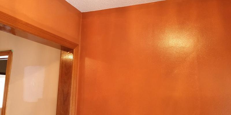 Woodbridge home gets painted