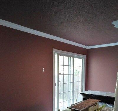 Before painting Pickering Interior