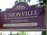 Downtown Unionville a good place to paint