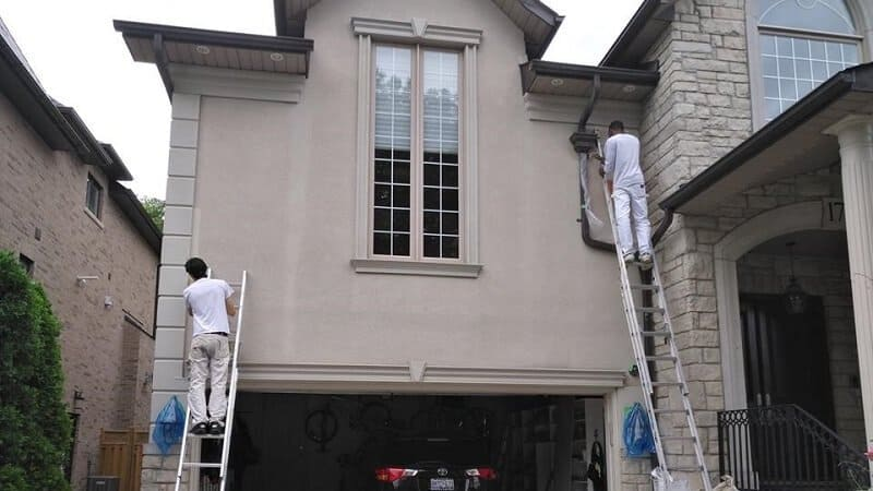 Our painters hard at work