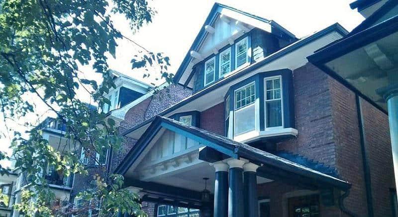 Toronto's Annex exterior painting
