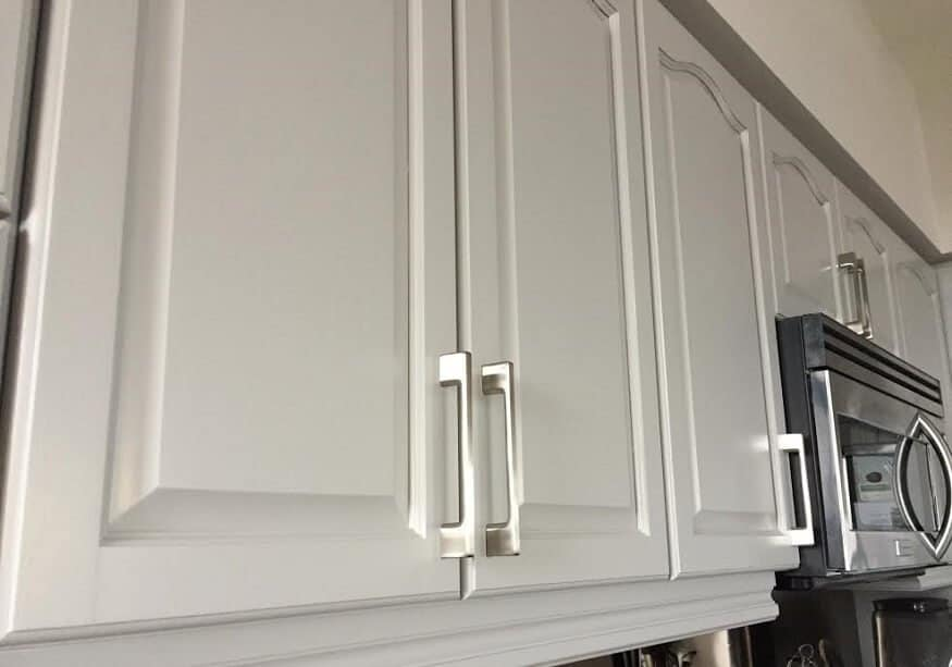 Cabinet Coat paint for cabinets in a condo