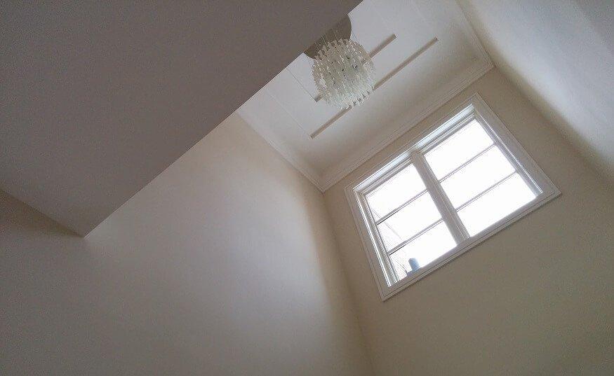Builder's flat paint
