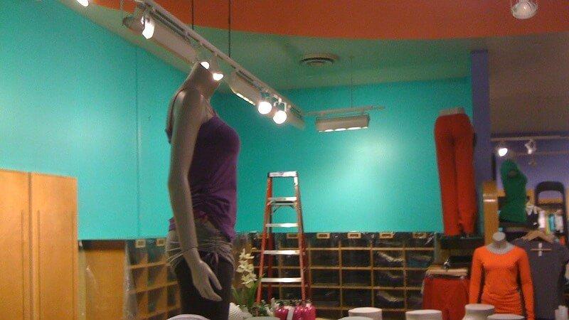 Lululemon paint project