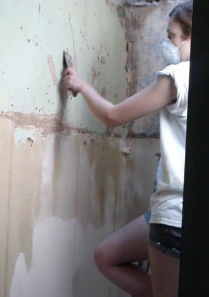 Unpredictable Wallpaper stripping