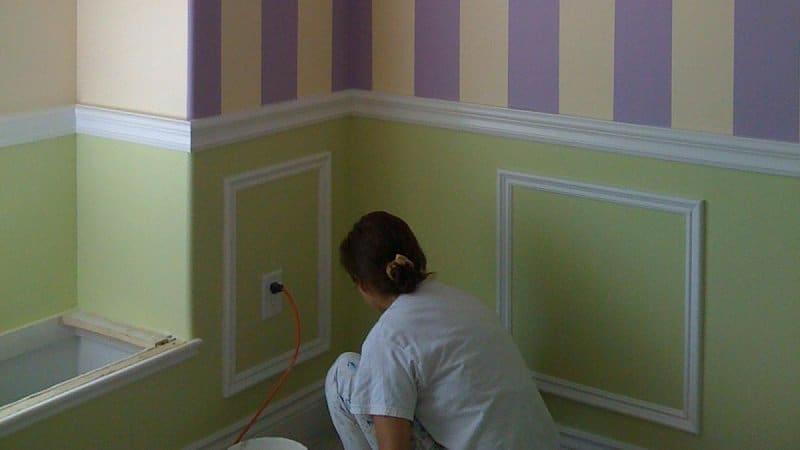 Ajax Painter Decorating a Home