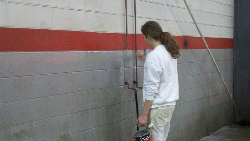 Commercial maintenance painting in Brampton