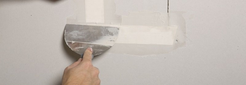 Patching and Taping Drywall Demonstration