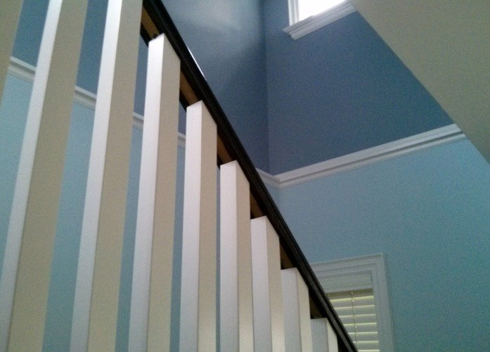 Colour for the stairway