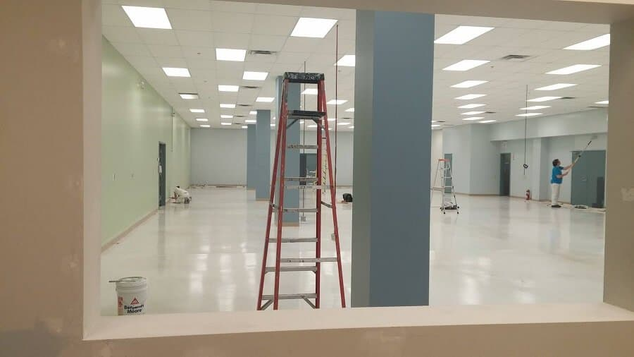 Painting facility maintenance with Ultraspec 500