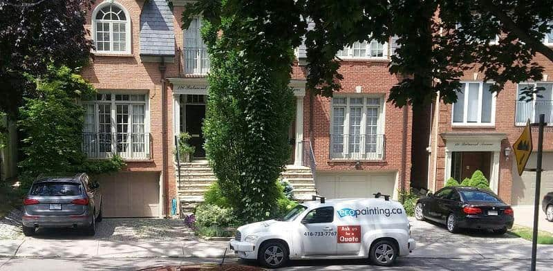 Exterior Painting in Toronto