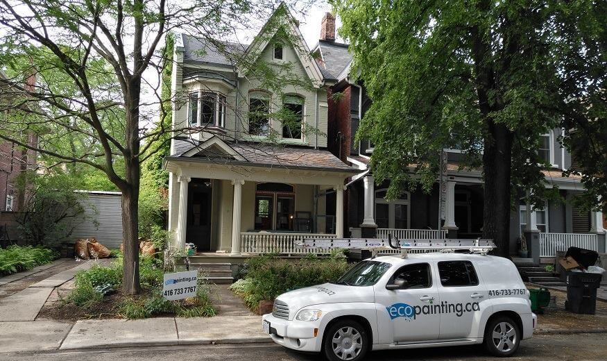 Painting a Riverdale home to sell