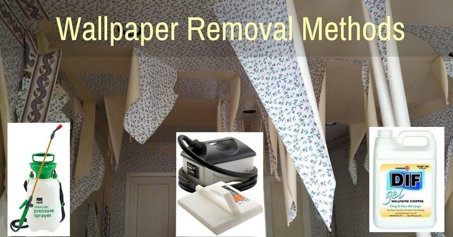 Wallpaper Removal Methods