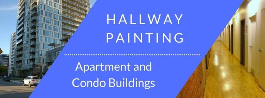 Hallway painting in condo buildings