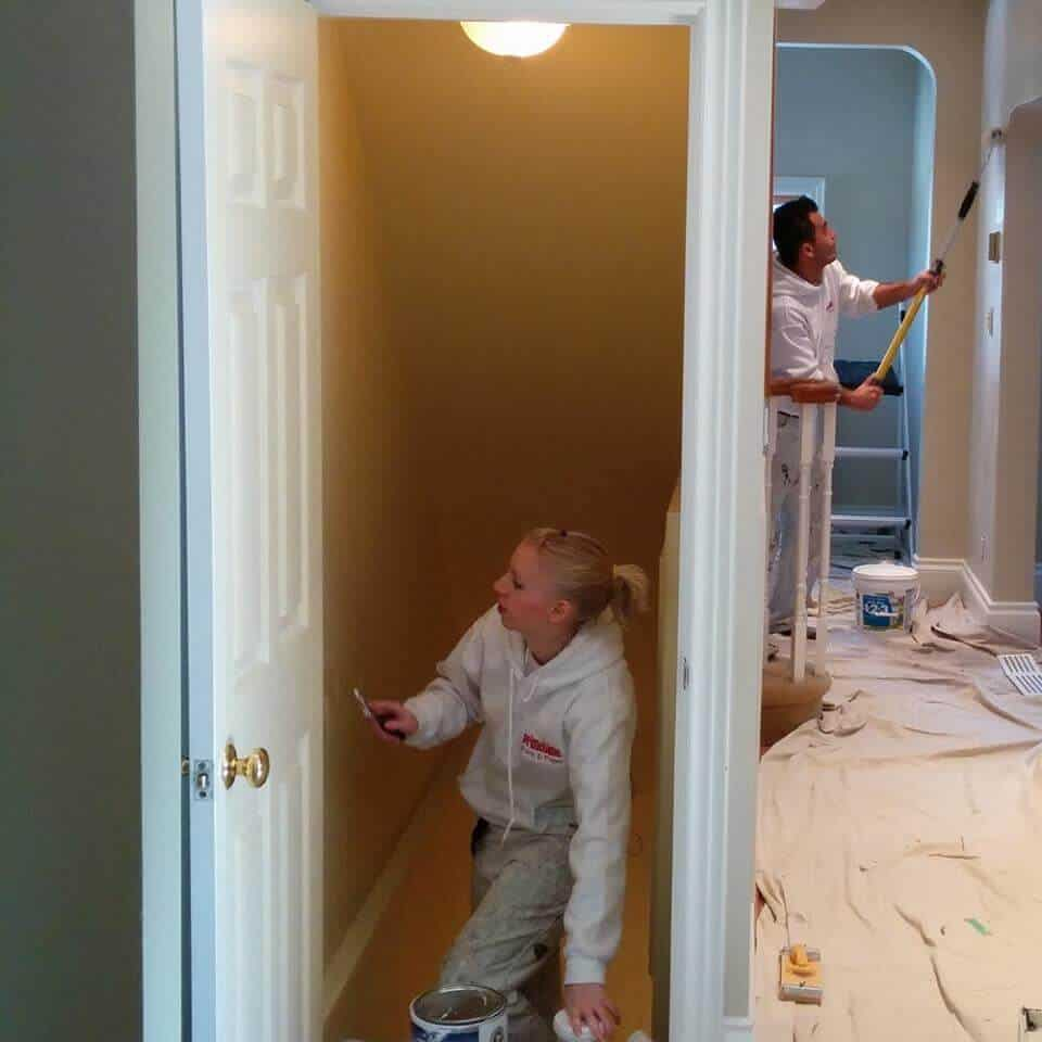 You will know who your painters are in your home