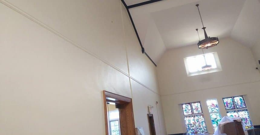 We tested SCUFF-X on this church project