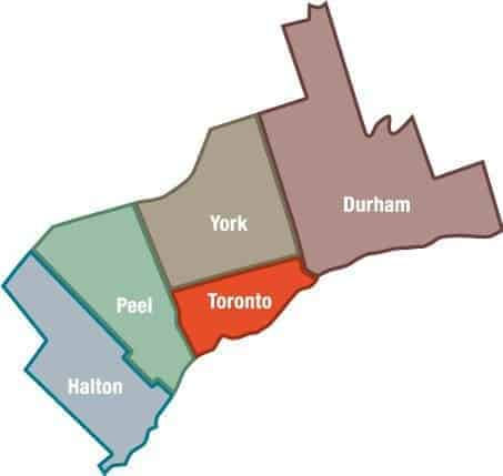 Painting Service Area in the GTA