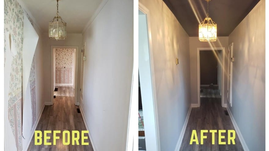 Wallpaper removal service in Newmarket