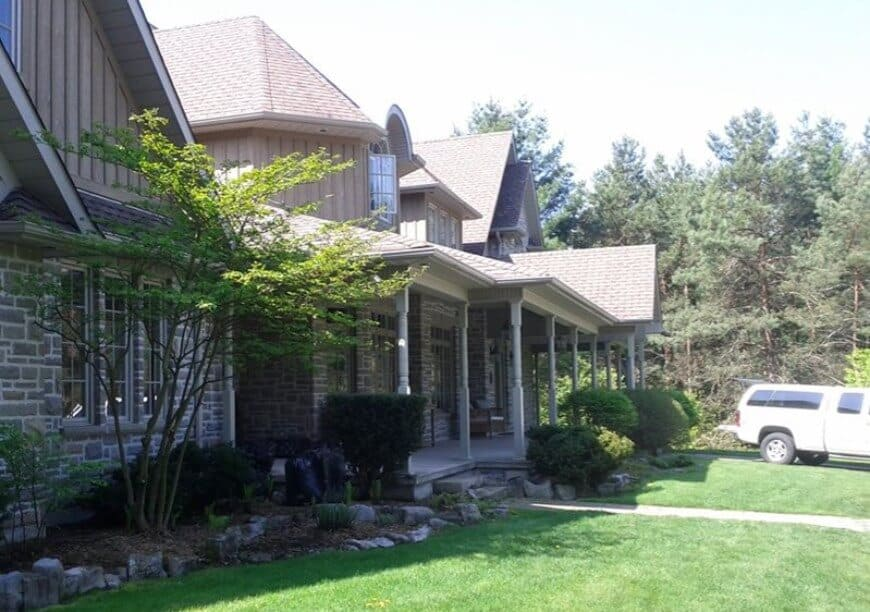 Large home exterior painting in King City
