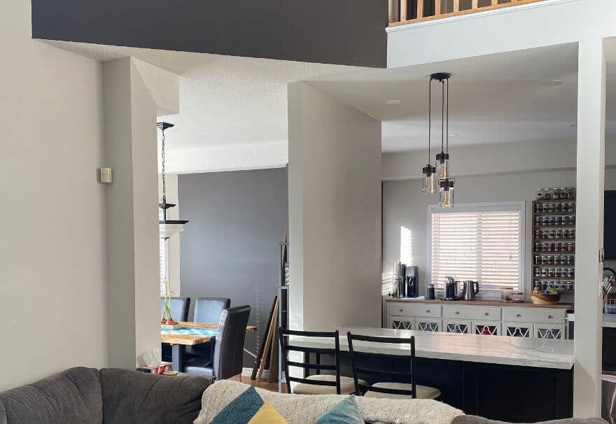 Picture of Barrie home interior as described in featured project